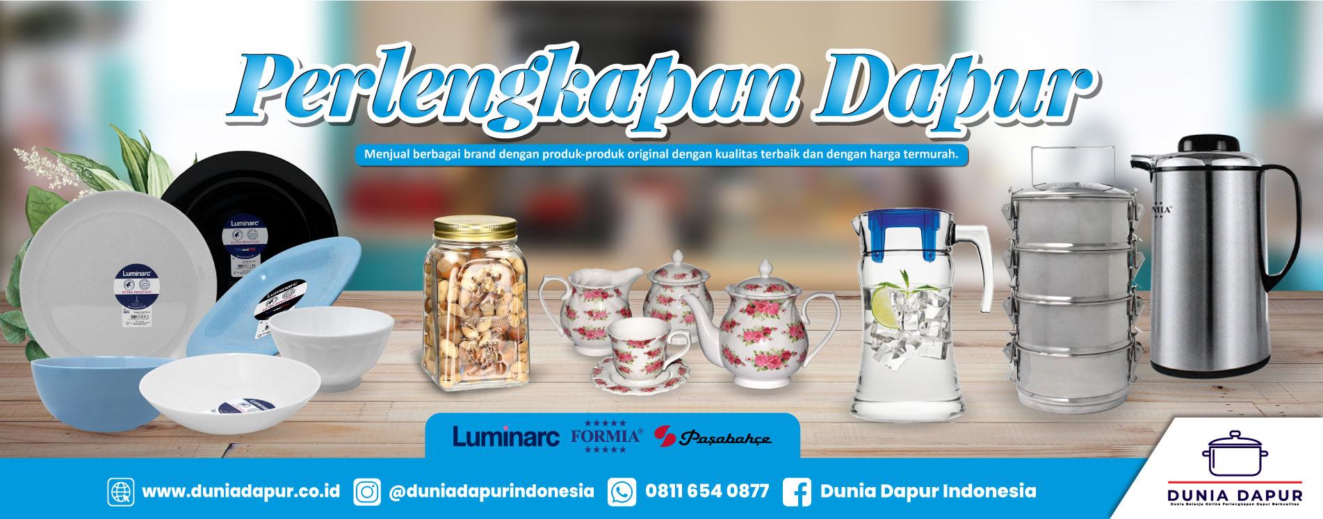 Perlengkapan Dapur (Hotel, Restaurant, Rumah Tangga & Cafe)