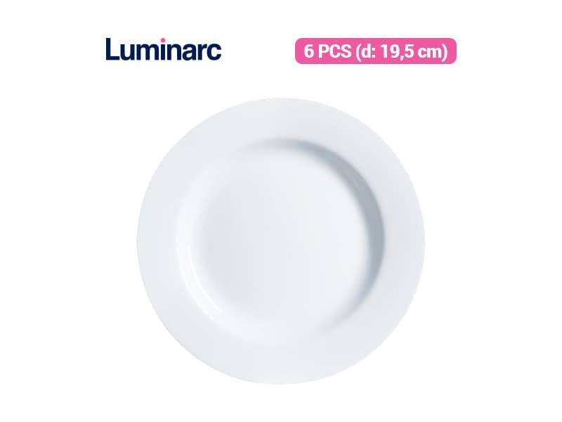 Luminarc Piring Kue Evolution Dessert / 6 pcs