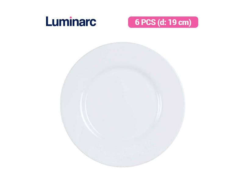 Luminarc Piring Kue Essence Dessert Plate / 6 pcs