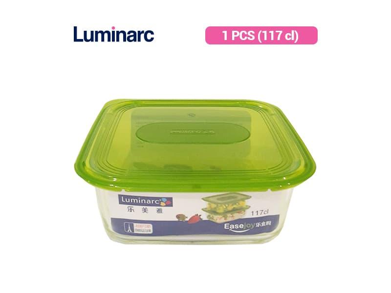 Luminarc Penyimpan Makanan Easejoy Sqr Box 117 Cl / pcs