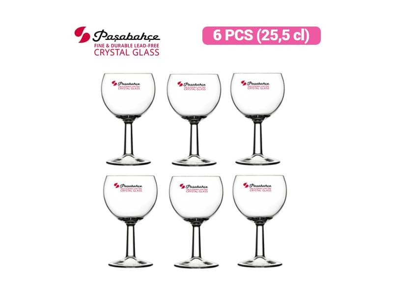Pasabahce Gelas Wine Banquet 25.5 Cl /6 pcs