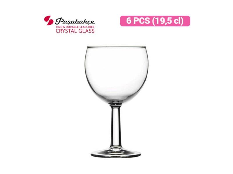 Pasabahce Gelas Wine Banquet 19.5 Cl - 6 pcs