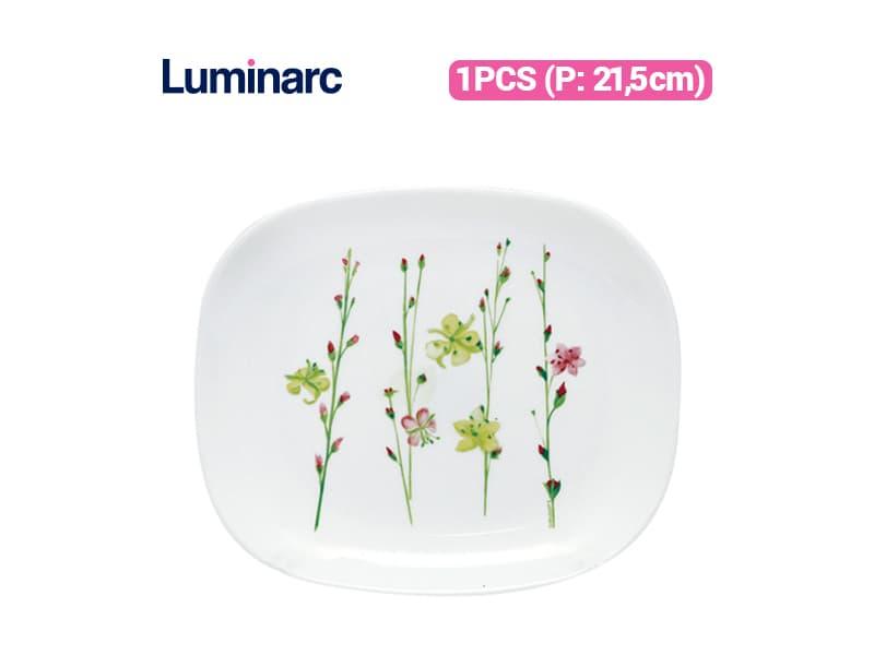 Luminarc Piring Kue Vegetal Spirit Dessert Plate / pcs