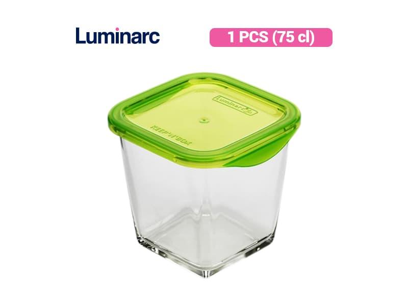 Luminarc Penyimpan Makanan Keep N Box Deeper Sqr 75 / pcs