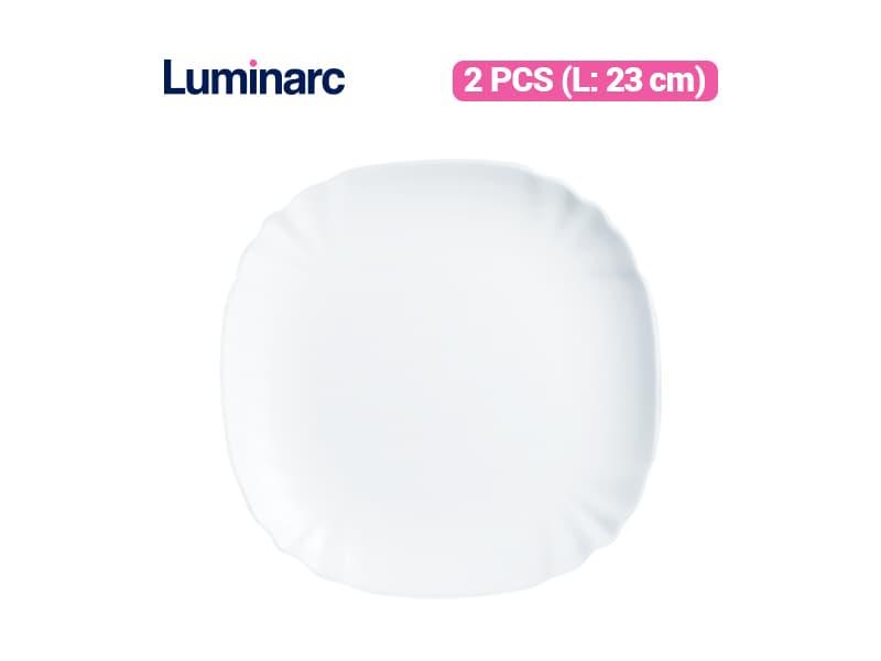 Luminarc Piring Kue Lotusia Dessert Plate / 2 pcs