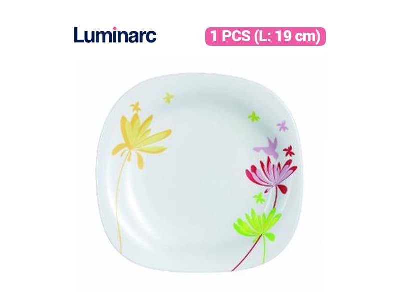Luminarc Piring Kue Crazy Flowers Dessert Plate / pcs