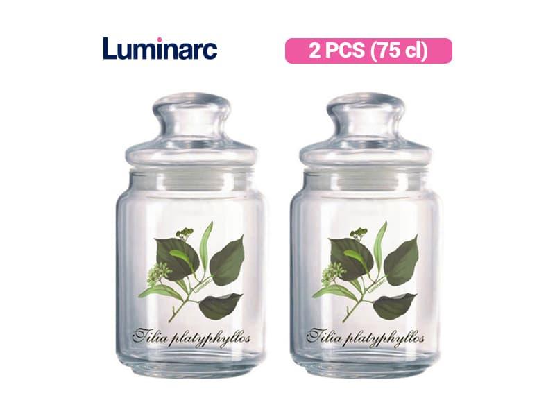Luminarc Toples Rondo Jar Tilia 0.75 / 2 pcs