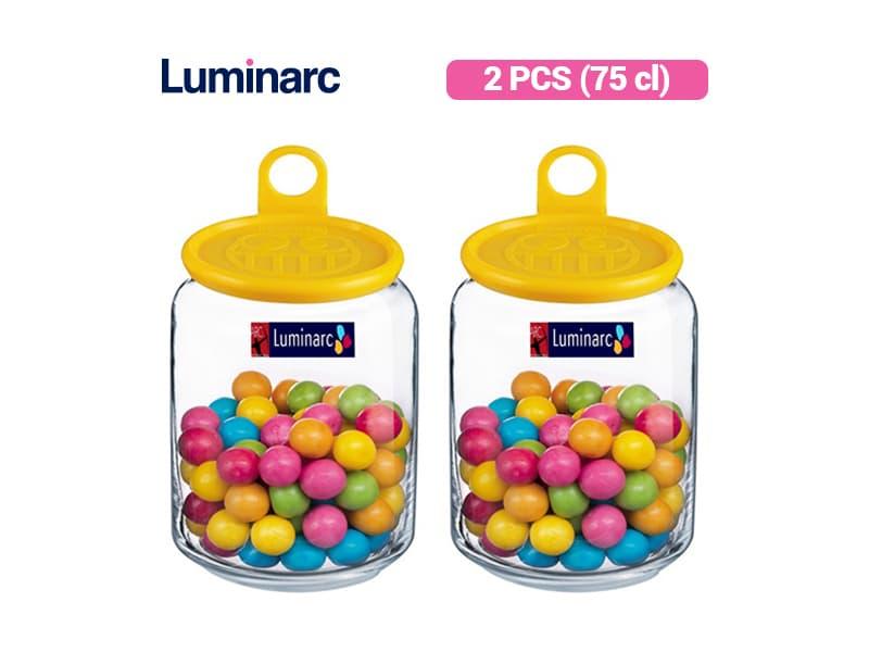 Luminarc Toples Rondo Jar Smile 0.75 / 2 pcs