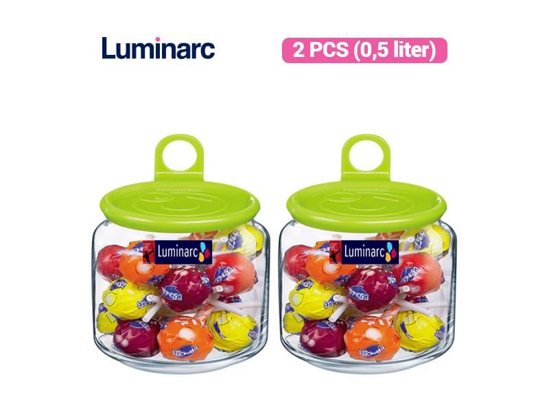 Luminarc Toples Rondo Jar Smile 0.5 / 2 pcs