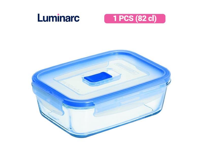 Luminarc Penyimpan Makanan PureBox Active Rect 82 / pcs