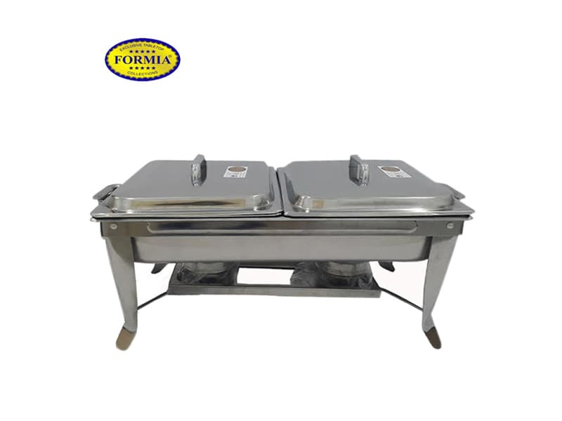 Formia Prasmanan Chaffing Dish Double Pan + 2 Cover