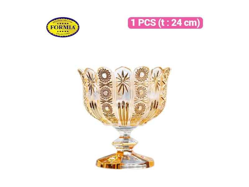 Formia Tempat Buah Gold Bowl Ftd 24 / pcs