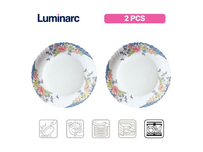 Luminarc Piring Kue Florine / 2 pcs