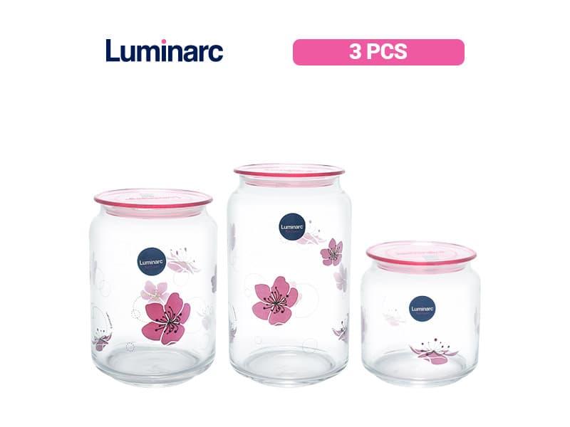 Luminarc Toples set ikumi (0.5 lt,0.75 lt & 1.0 lt) / set