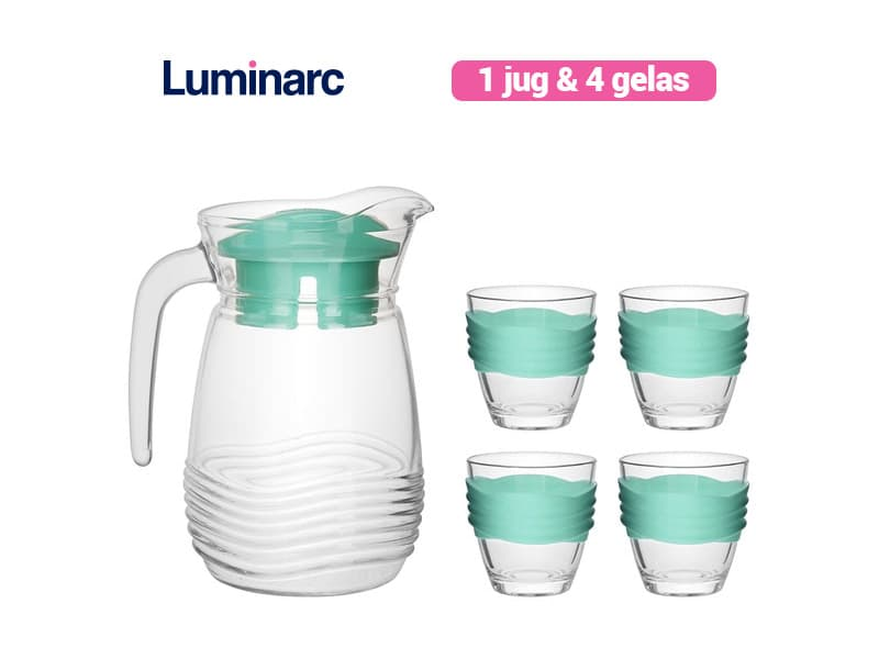 Luminarc Teko Set Coastiline Green / 5 pcs
