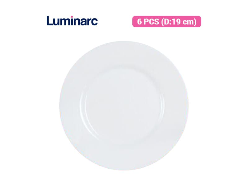 Luminarc Piring Kue Everyday - 6 pcs