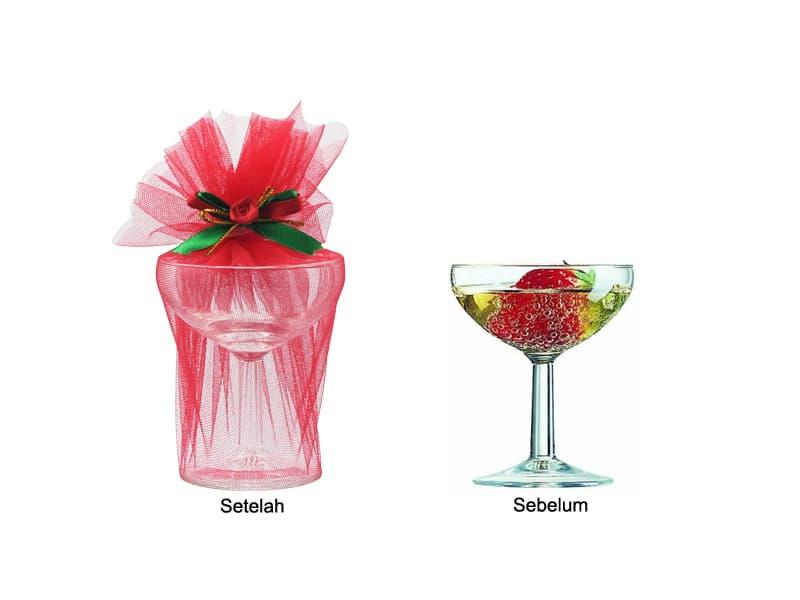 Souvenir Luminarc Gelas Berkaki Ballon Champagne 13 cl