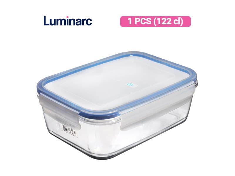 Luminarc Penyimpanan Makanan PureBox Rect 122 / pcs