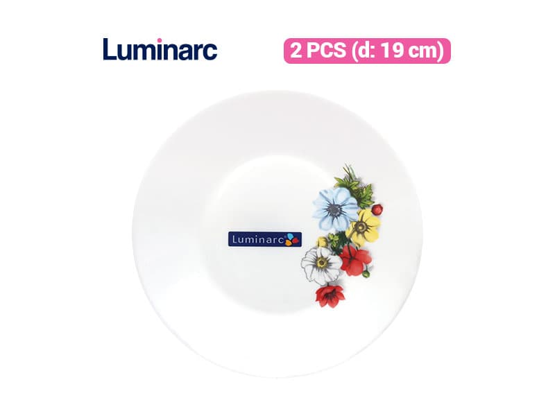 Luminarc Piring Kue Anemone Dessert Plate / 2 pcs