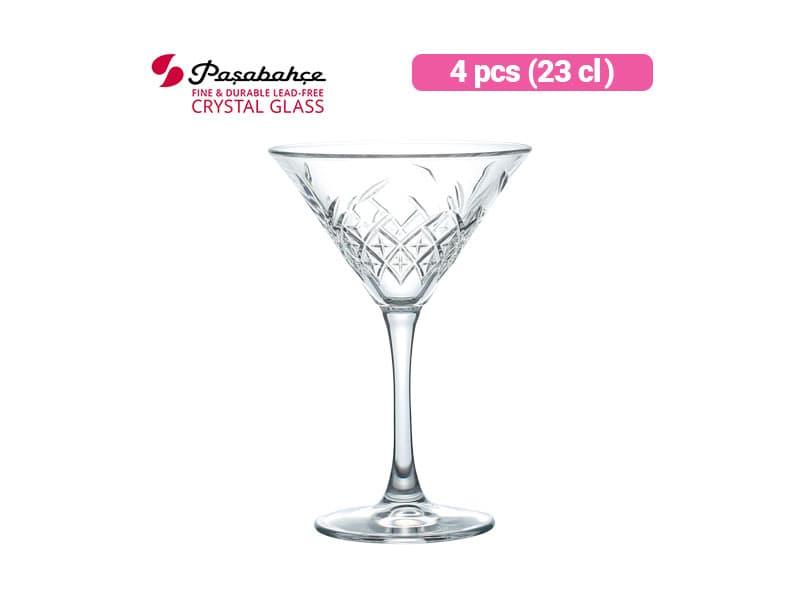 Pasabahce Gelas Minum Timeless Martini 23 cl / 4 pcs