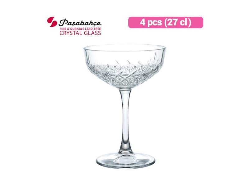 Pasabahce Gelas Minum Timeless Wine 27 cl / 4 pcs