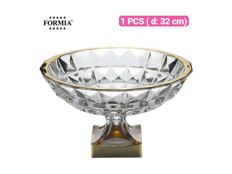 Formia Bowl Tempat Buah Gold 32 cm / pcs