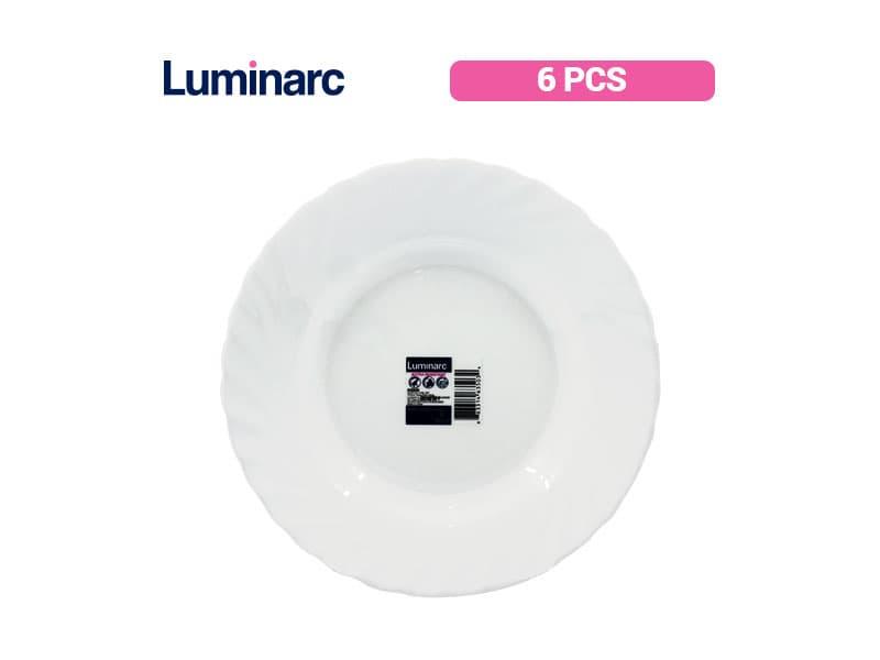 Luminarc Trianon Piring Sop 23 Cm / 6 pcs