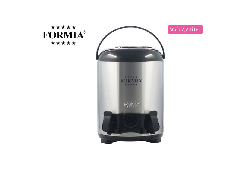 Formia Dispenser 2 Taps 8 liter SS