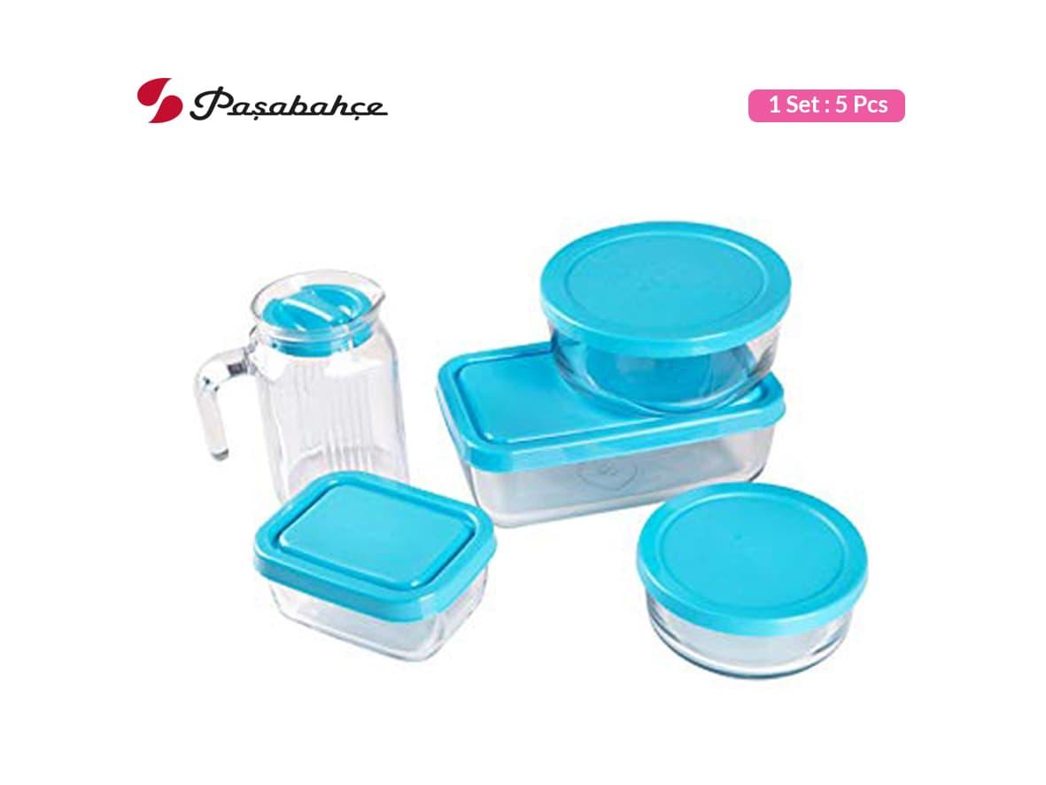 Pasabahce Tempat Makan Polar Set / 5 pcs