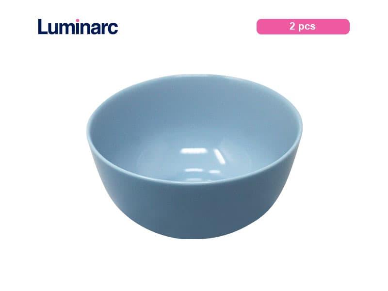 Luminarc Diwali Light Blue Mangkok 14 cm / 2 pcs