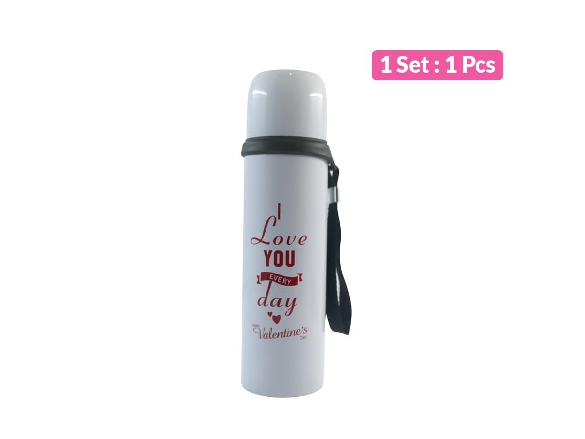 Termos Air Minum Romantic Happy Valentine 500 ml  Vacuum Cup/ pcs