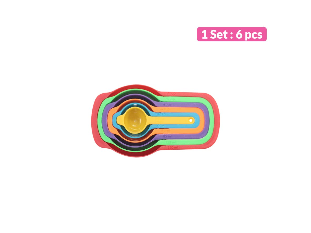 Sendok Ukur Set / 6 pcs