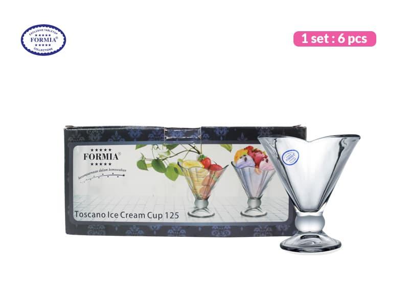 Formia Gelas Es Krim Toscano 125 ml / 6 pcs
