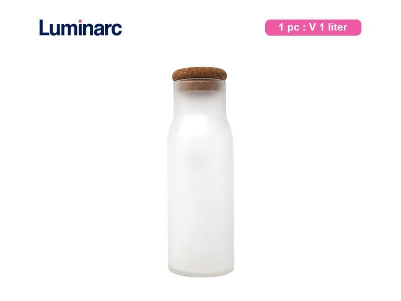 Luminarc Botol Petale Decanter Frosted 1 ltr / pcs