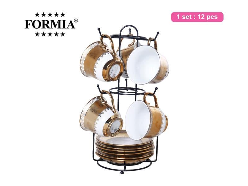 Formia Tea Set Belle Nova W/Rack / 12 pcs