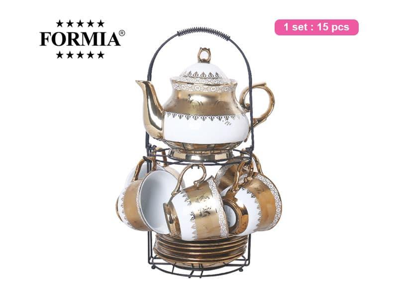 Formia Tea set Belle Nova W/Rack / 15 pcs