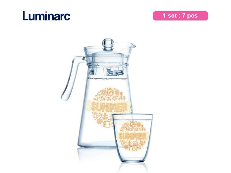 Luminarc Teko Set Kone Hello Summer / 7 pcs