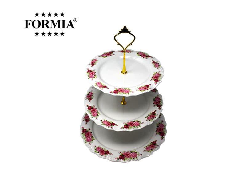 Formia Tempat Kue 3 Tingkat Royal Rose / Set