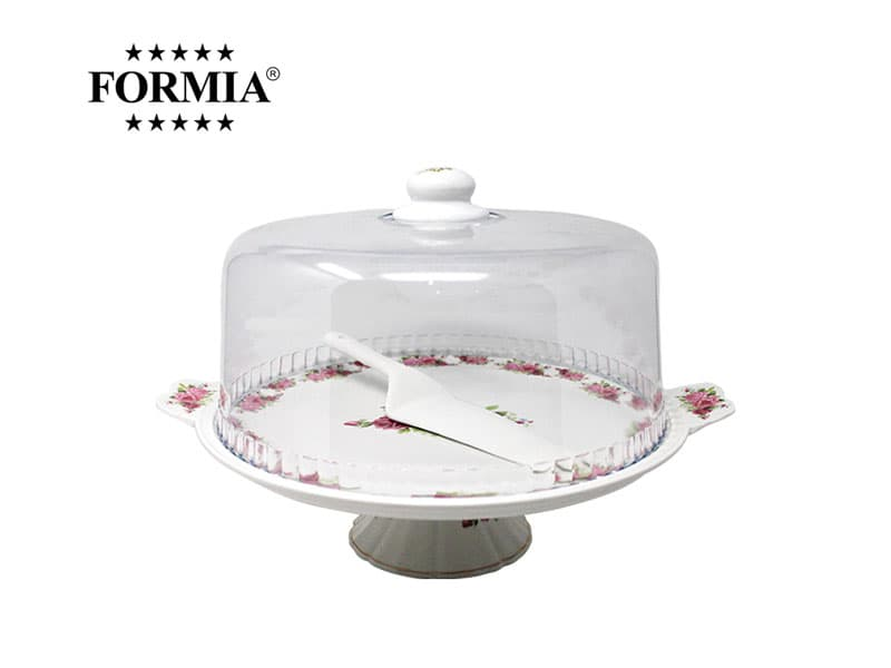 Formia Tempat Kue Royal Rose Cake Plate 13 Inchi / pcs
