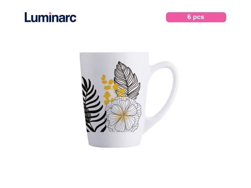 Luminarc Gelas Minum Bertangkai New Morning Palm Spring / 6 pcs