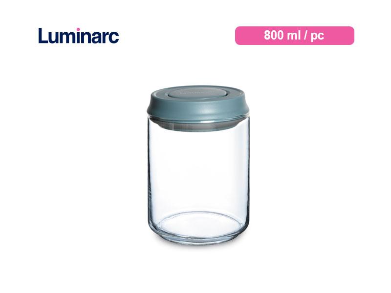 Luminarc Toples Kue Pot Lock 800 ml / pc