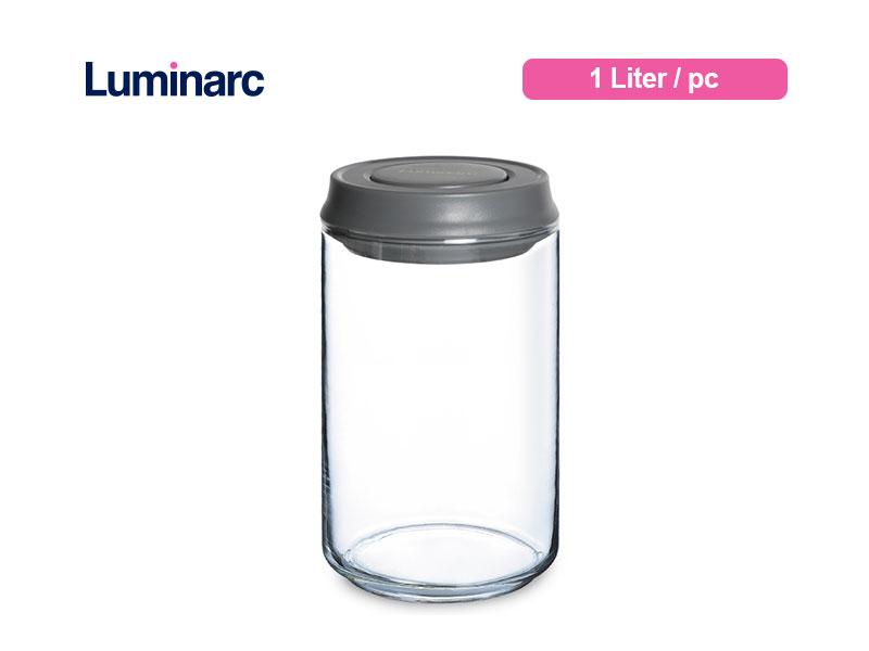 Luminarc Toples Kue Pot Lock 1 Ltr / pc
