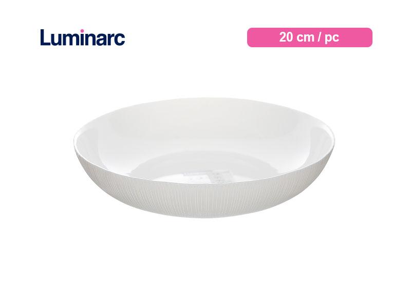 Luminarc Mangkok Diwali Structure Bowl 20 Cm Lines / pc