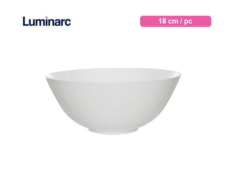 Luminarc Mangkok Diwali Structure Bowl 18 Cm Lines / pc