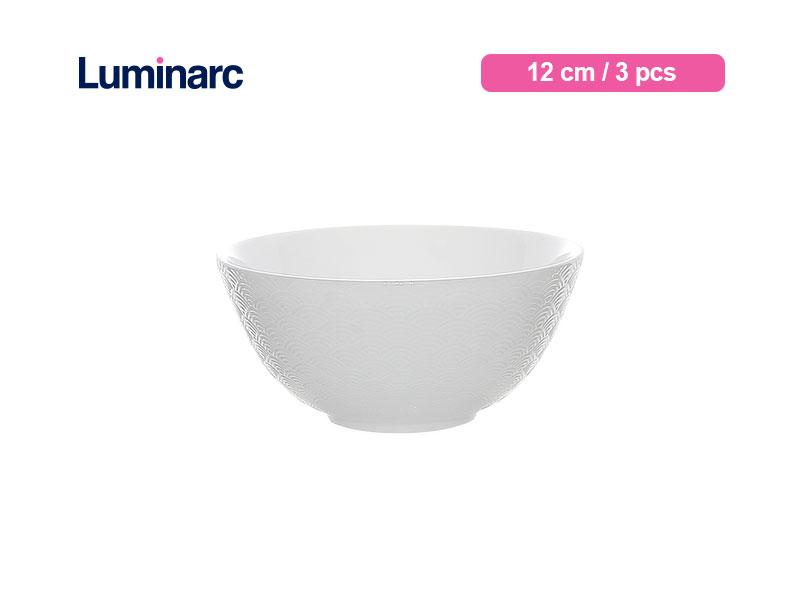 Luminarc Mangkok Kecil Diwali Structure Bowl 12 Cm Shells / 3 pcs