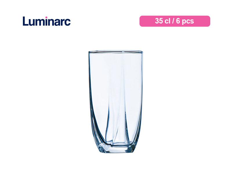 Luminarc Gelas Minum Eiffel Tumbler 35 Cl / 6 pcs