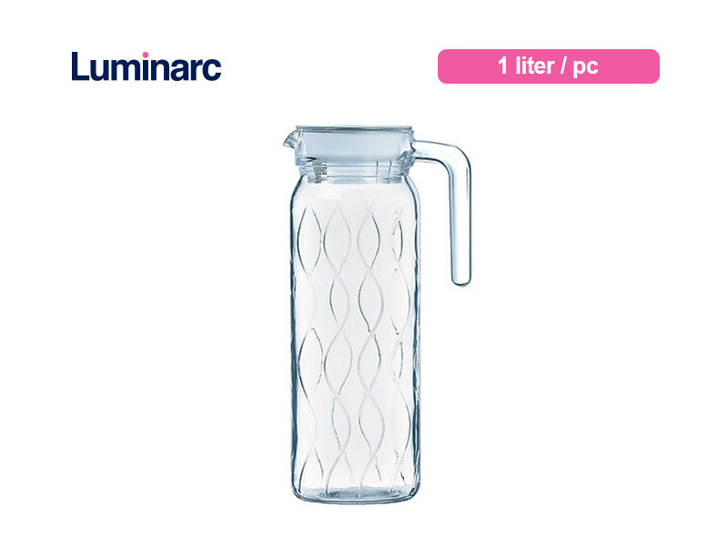 Luminarc Teko Air Minum Dona Jug 1 Ltr Wave / pc