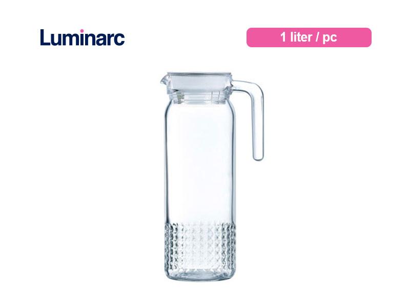 Luminarc Teko Air Minum Dona Jug 1 Ltr Twinkle / pc
