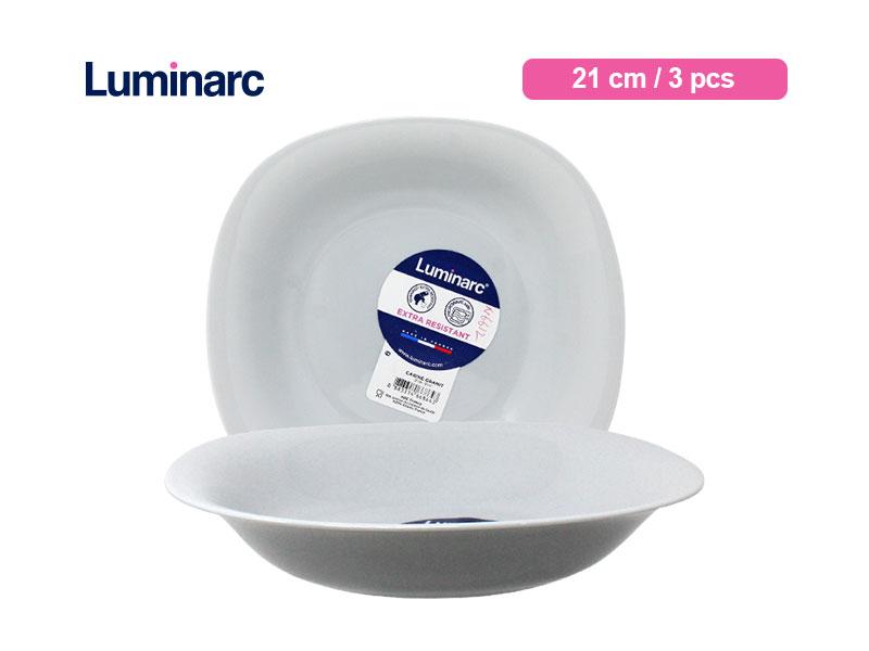 Luminarc Piring Sop Carine Granit Soup Plate / 3 pcs