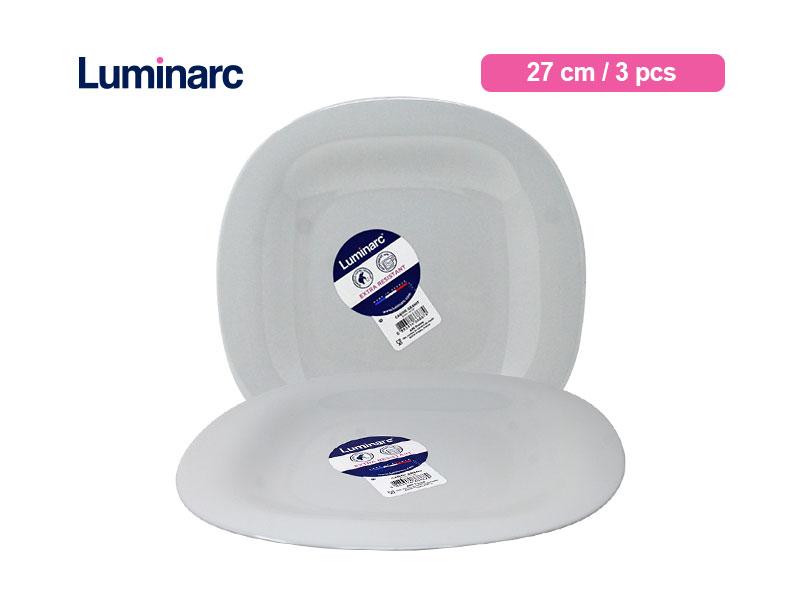 Luminarc Piring Makan Carine Granit 27 Cm / 3 pcs
